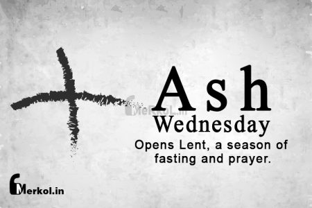 Ash Wednesday 2019, March 6