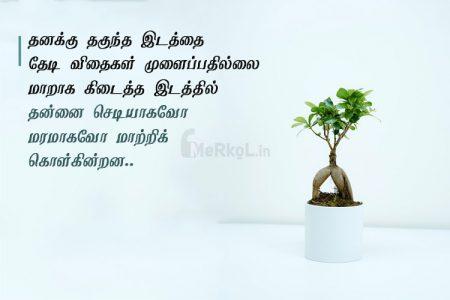 Tamil images | அற்புதமான எண்ணங்கள் கவிதை – தனக்கு தகுந்த